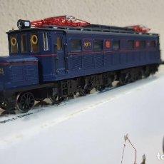 Trenes Escala: LOCOMOTORA NORTE AZUL 7100. Lote 221434480