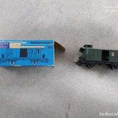 Trenes Escala: VAGÓN DE EQUIPAJE - MARKLIN 4008 - CAJA ORIGINAL - TREN ESCALA H0. Lote 221464005