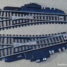 Trenes Escala: 2 VÍAS ELÉCTRICAS DE 18 CM DE LARGO, ENVIO 3,50 EUROS. Lote 221642462