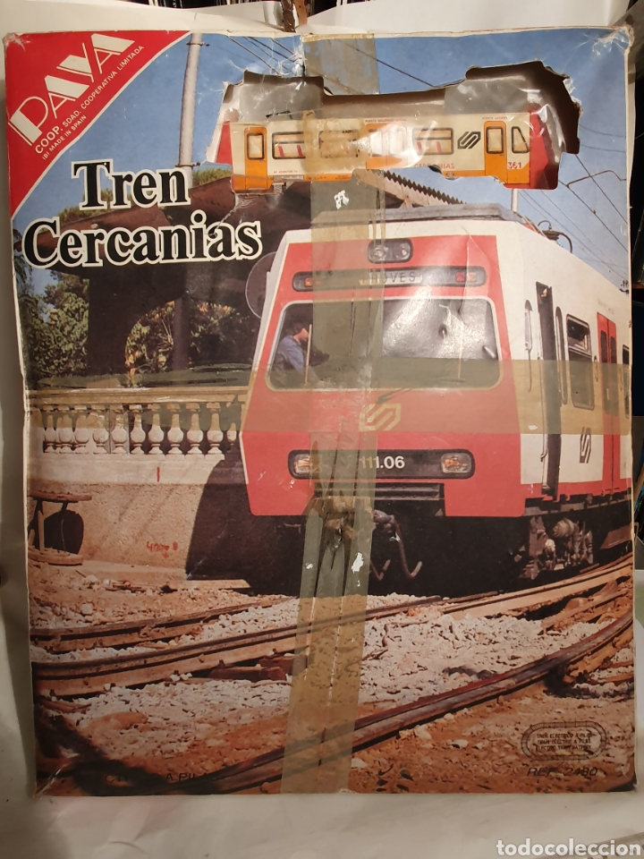 Trenes Escala: TREN PAYA. REF. 2480. TREN CERCANIAS. ELECTRICO A PILAS. - Foto 4 - 221670355