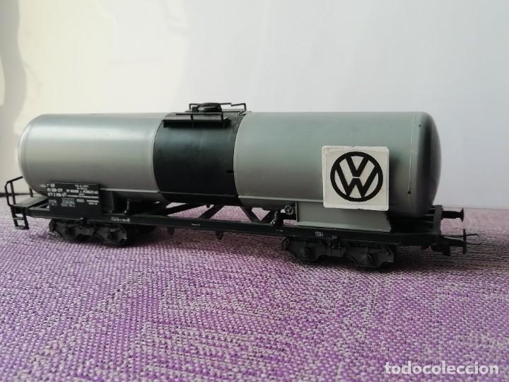 Trenes Escala: Vagon cisterna H0 - Foto 3 - 221671096
