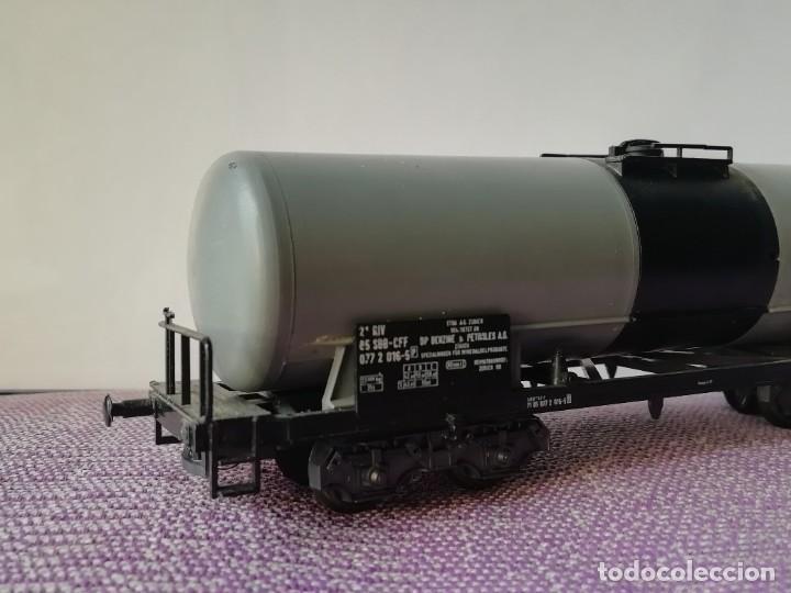 Trenes Escala: Vagon cisterna H0 - Foto 6 - 221671096