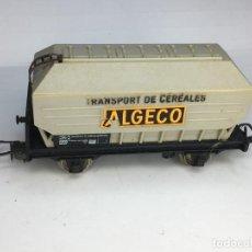 Trenes Escala: JOUEF VAGON CISTERNA TREN CEREALES ALGCO. Lote 221947820