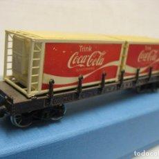 Trenes Escala: VAGON MERCANCIAS DE COCA COLA JOUEF. Lote 221968566