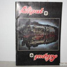 Trenes Escala: ANTIGUO CATÁLOGO LILIPUT.. Lote 221986308