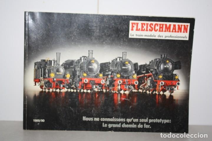 ANTIGUO CATÁLOGO FLEISCHMANN (Juguetes - Trenes - Varios)