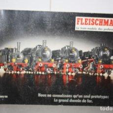 Trenes Escala: ANTIGUO CATÁLOGO FLEISCHMANN. Lote 221986341
