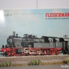 Trenes Escala: ANTIGUO CATÁLOGO FLEISCHMANN. Lote 221986388