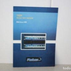 Trenes Escala: PUBLICIDAD TRENES MABAR.. Lote 221986841