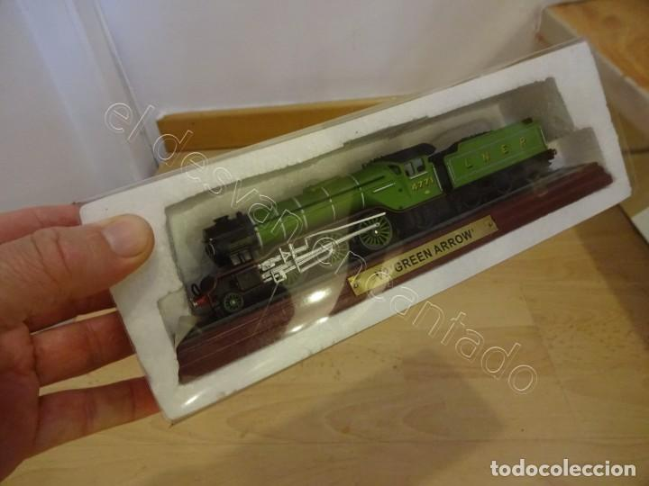 Trenes Escala: Locomotora V2 GREEN ARROW. Coleccion ATLAS a estrenar - Foto 3 - 221994802