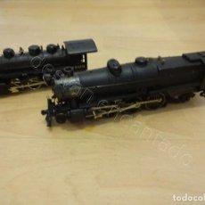 Trenes Escala: 2 LOCOMOTORAS BACHMANN 5475 Y 1905. LES FALTA EL TENDER. Lote 221999093