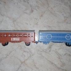 Trenes Escala: LOTE DE VAGONES DE TREN RENFE JYESA. Lote 222163343