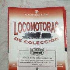 Trenes Escala: LOTE FASCICULOS COLECCIÓN LOCOMOTORAS DE COLECCIÓN. Lote 222252891