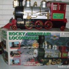 Trenes Escala: LOCOMOTORA ROCKY MOUNTAIN-EN SU CAJA ORIGINAL. Lote 222533473