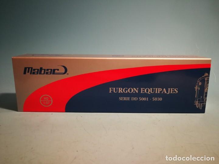 FURGON MABAR RENFE 85005 (Juguetes - Trenes Escala H0 - Otros Trenes Escala H0)