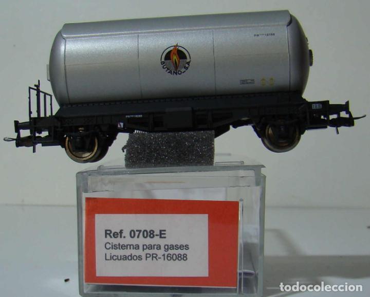 KTRAIN VAGON CISTERNA BUTANO SA REF: 0708-E ESCALA H0 (Juguetes - Trenes Escala H0 - Otros Trenes Escala H0)