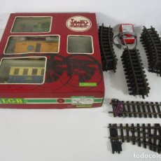 Trenes Escala: TREN LEHMANN L.G.B - REF 20301 - THE BIG TRAIN - VÍAS, CRUCES, ETC - COMPLETO - CON CAJA ORINAL. Lote 222800211