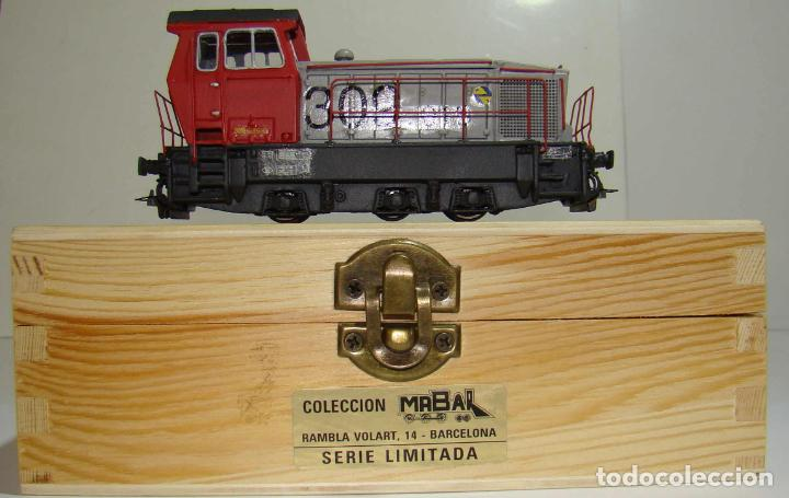 TRACTOR DE MANIOBRAS DE LA SERIE 309 DE MABAR DC DIGITAL (Juguetes - Trenes Escala H0 - Otros Trenes Escala H0)