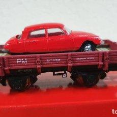 Trenes Escala: PLATAFORMA CON COCHE K-TRAIN. Lote 223910291