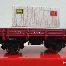 Trenes Escala: PLATAFORMA CON CAJA K-TRAIN. Lote 223911015