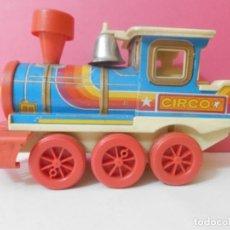 Trenes Escala: TREN OBERTOYS ANTIGUO DE HOJALATA. Lote 223957153