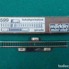 Trenes Escala: MARKLIN MINI CLUB....REF 8599. CONECTOR.. Lote 224212806