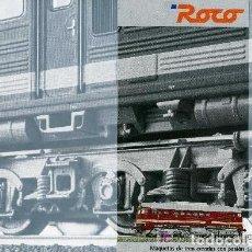 Trenes Escala: ROCO - CATÁLOGO 2001. Lote 224414510