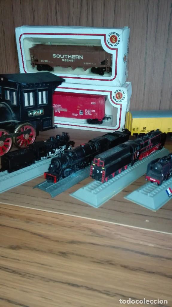Trenes Escala: Lote de trenes a varias escalas - Foto 4 - 224875035