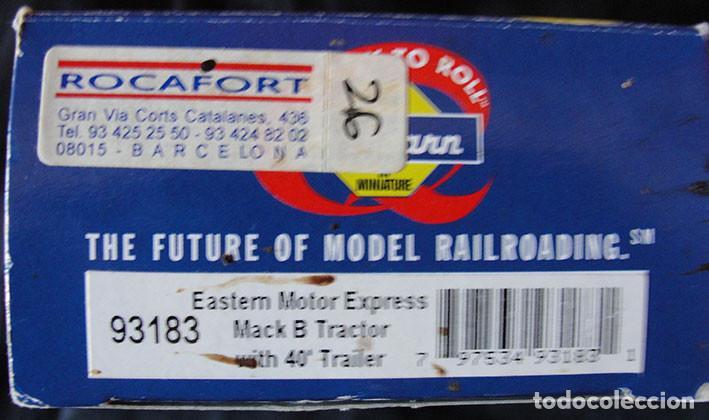 Trenes Escala: CAMION HO 1:87 ATHEARN 93183 - EASTERN MOTOR EXPRESS - DESCATALOGADO - MUY RARO - - Foto 4 - 225962403