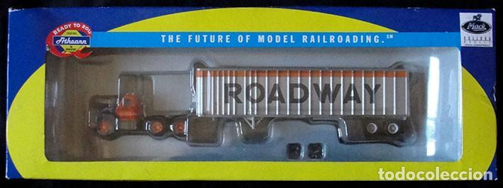 CAMION HO 1:87 ATHEARN 70988 - ROADWAY - DESCATALOGADO - MUY RARO - (Juguetes - Trenes Escala H0 - Otros Trenes Escala H0)