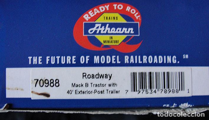 Trenes Escala: CAMION HO 1:87 ATHEARN 70988 - ROADWAY - DESCATALOGADO - MUY RARO - - Foto 4 - 225968630