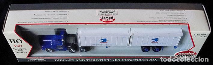 Trenes Escala: CAMION HO 1:87 MODEL POWER 22001 - UNITED STATES POSTAL SERVICE - DESCATALOGADO - MUY RARO - - Foto 2 - 225977350