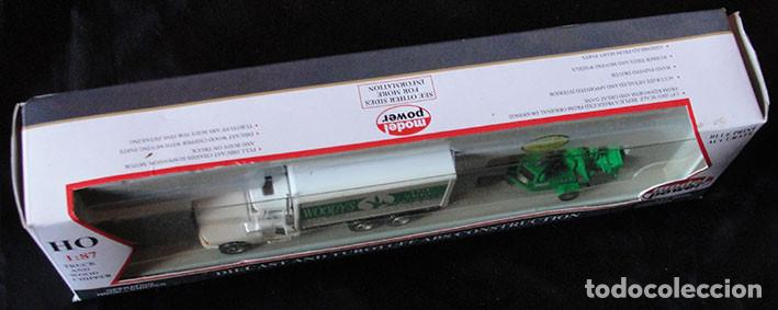Trenes Escala: CAMION HO 1:87 MODEL POWER 36100 - WOODYS TREE SERVICE - DESCATALOGADO - MUY RARO - - Foto 2 - 225985275