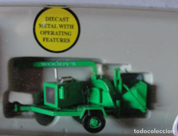 Trenes Escala: CAMION HO 1:87 MODEL POWER 36100 - WOODYS TREE SERVICE - DESCATALOGADO - MUY RARO - - Foto 3 - 225985275