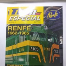 Trenes Escala: TREN MANIA ESPECIAL N° 15 RENFE 1962-1965. Lote 227761655