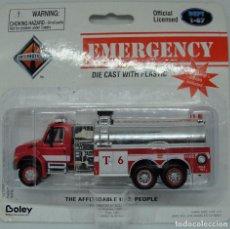 Trenes Escala: CAMION BOMBEROS HO 1:87 - BOLEY - DEPT - EMERGENCY FIRE WATER T6 HO 1:87 -. Lote 227906195