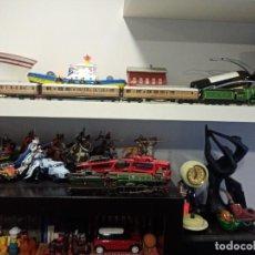 Trenes Escala: FLYING SCOTSMAN, COMPOSICIÓN, TREN, VAGÓN, ESCALA HO, LOCOMOTORA. Lote 227911290