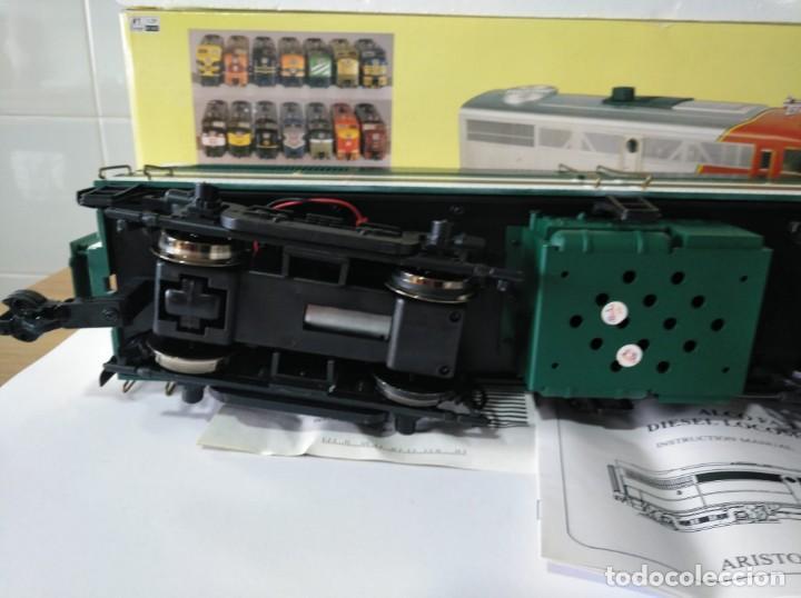 Trenes Escala: ARISTOCRAFT DIESEL LOCOMOTIVE ALCO FA-1 REF: 22019 ESCALA G 1:29 - Foto 4 - 230271620