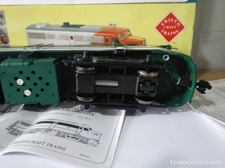 Trenes Escala: ARISTOCRAFT DIESEL LOCOMOTIVE ALCO FA-1 REF: 22019 ESCALA G 1:29 - Foto 5 - 230271620
