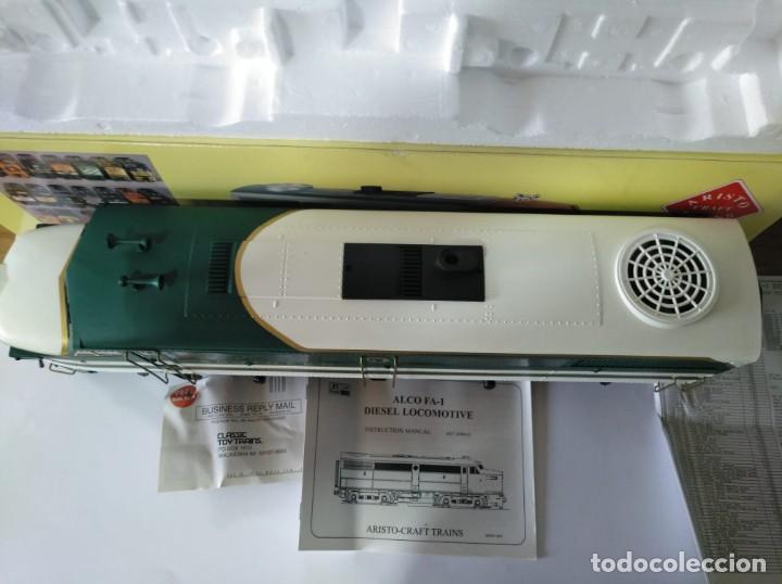 Trenes Escala: ARISTOCRAFT DIESEL LOCOMOTIVE ALCO FA-1 REF: 22019 ESCALA G 1:29 - Foto 7 - 230271620