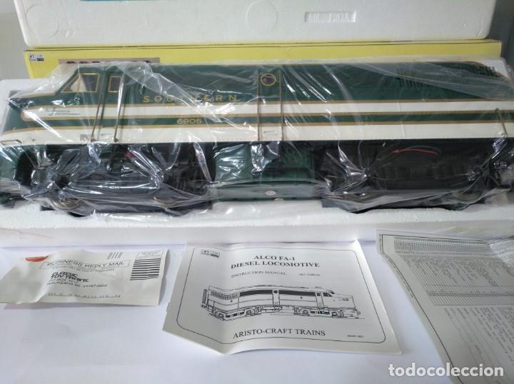 Trenes Escala: ARISTOCRAFT DIESEL LOCOMOTIVE ALCO FA-1 REF: 22019 ESCALA G 1:29 - Foto 8 - 230271620