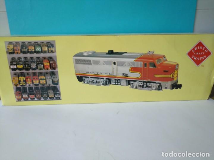 Trenes Escala: ARISTOCRAFT DIESEL LOCOMOTIVE ALCO FA-1 REF: 22019 ESCALA G 1:29 - Foto 9 - 230271620