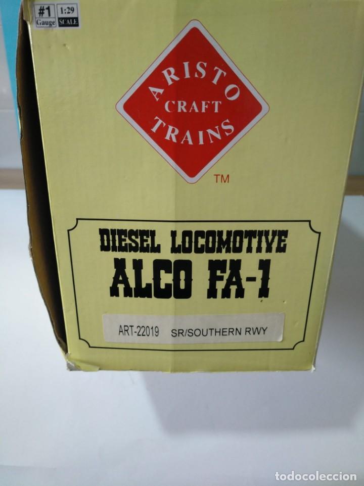 Trenes Escala: ARISTOCRAFT DIESEL LOCOMOTIVE ALCO FA-1 REF: 22019 ESCALA G 1:29 - Foto 10 - 230271620