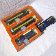 Trenes Escala: LOCOMOTORA + 3 VAGONES H0 ALASKA RAILROAD DE LIONEL. Lote 231311240