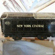 Comboios Escala: VAGÓN TREN DE HOJALATA.MARCA MAR TOYS. NEW YORK CENTRAL.VER FOTOS.W. Lote 232594481