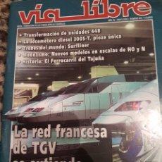 Trenes Escala: REVISTA VÍA LIBRE N° 464 MAYO 2003. Lote 232692335