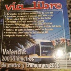 Trains Échelle: REVISTA VÍA LIBRE N°475 MAYO 2004. Lote 232692595