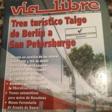 Trenes Escala: REVISTA VÍA LIBRE N° 481 DICIEMBRE 2004. Lote 232693065