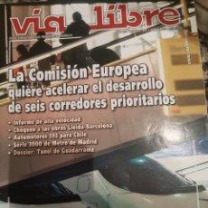 Trenes Escala: REVISTA VÍA LIBRE N°490 OCTUBRE 2005. Lote 232693300