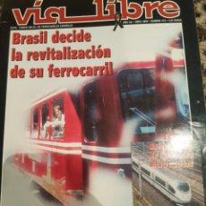 Trenes Escala: REVISTA VÍA LIBRE N° 474 ABRIL 2004. Lote 232694435